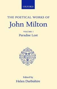 The Poetical Works of John Milton - Paradise Lost Vol. 1 by John Milton - Hardcover - 1953 - from ThriftBooks and Biblio.com