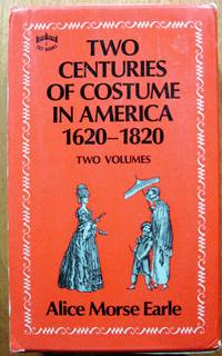 image of Two Centuries of Costume in America 1620-1820. Two Volumes in Slipcase