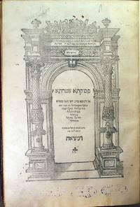 [Hebrew] Pesikta Zutarta [Lekah Tov]