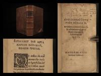 Hērōdianou Historiōn biblia ē ́B. = Herodiani à Commodo Marci filio ad Maximum usq & Albinum Imperatores, historiarum lib. VIII.