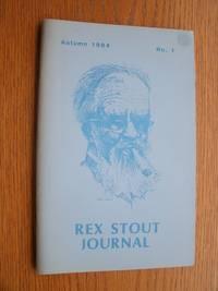 Rex Stout Journal Autumn 1984 No. 1