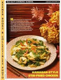 McCall's Cooking School Recipe Card: Chicken, Poultry 44 - Trader Vic's  Chicken Mauna...