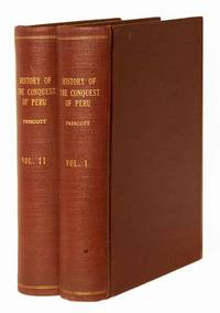 History of the Conquest of Peru by William H. PRESCOTT - Hardcover - 1882 - from SequiturBooks (SKU: 1106230021)