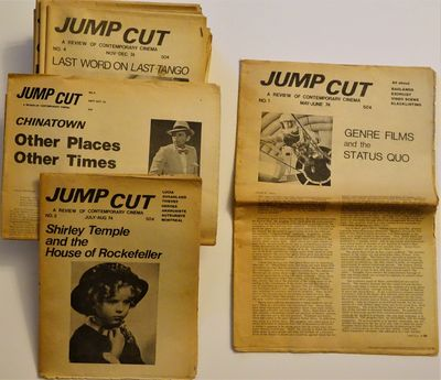 Chicago: Jump Cut Associates, 1974. The first 21 issues of this seminal film review, issues 10-11and...