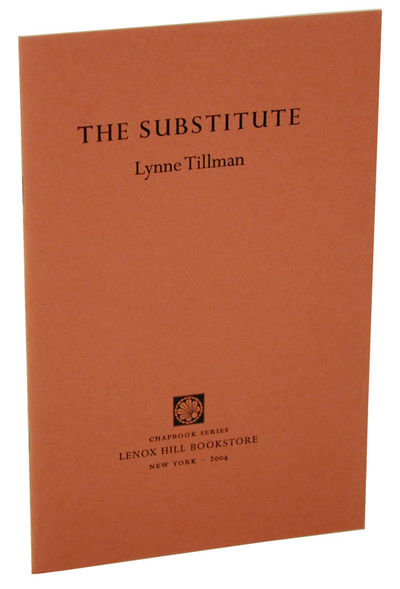 New York: Lenox Hill Bookstore, 2004. First edition. Softcover. A part of the chapbook series publis...