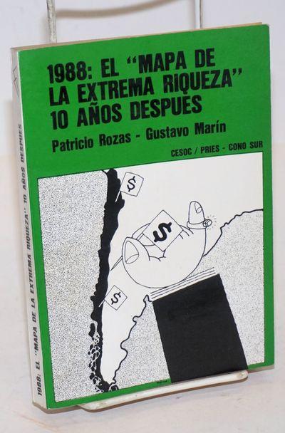 Santiago: Ediciones ChileAmerica CESOC, 1989. Paperback. 293p., softbound in 7x5 inch glossy decorat...