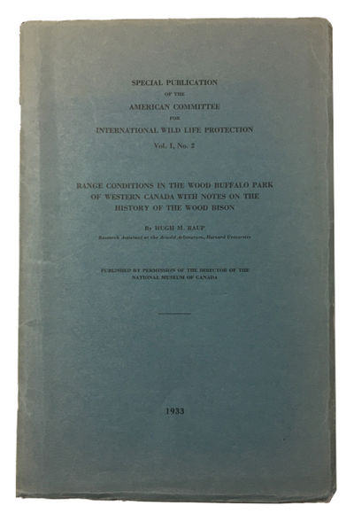 : American Committee for International Wild Life Protection, 1933. Paperback. Very Good. folding map...