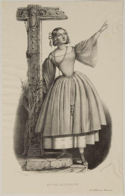 Paris: Rigo Frères et Cie; Marchant, 1841. 245 x 130 mm. On china paper. With