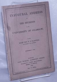 image of Inagural Address to the Students of the University of Glasgow, December 5, 1879