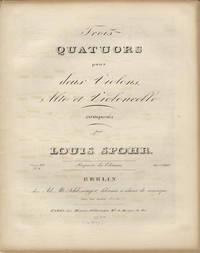 [Op. 82, nos. 1-2]. Trois Quatuors pour deux Violons, Alto et Violoncelle... Oeuv. 82. No. I...[II]. Prix 1 2/3 Rthlr. [Parts]