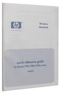 HP Deskjet 990c 980c 960c Users Guide