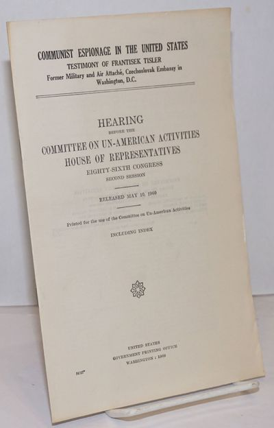 Washington, D. C.: GPO, 1960. v, 1723-1732, i , plain printed self-wraps, very good condition. Tisle...