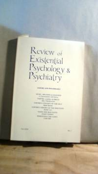Review of Existential Psychology & Psychiatry Vol. XVII No. 1 1980-1981 by  Keith [editor] HOELLER - 1983 - from Horizon Books (SKU: 63872)