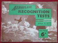 image of Aeroplane Recognition Tests. Part III. What Is It ?