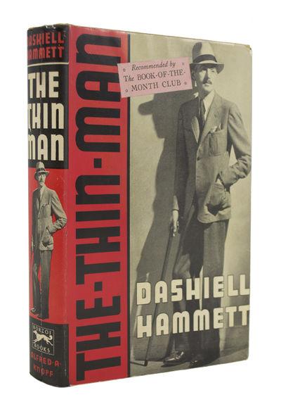 First Edition, In Original Dust Jacket HAMMETT, Dashiell. The Thin Man. New York: Alfred A. Knopf, 1...