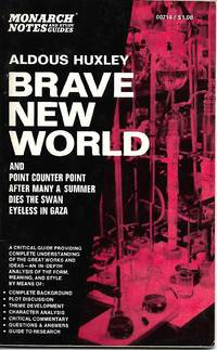 image of Brave New World - Monarch Notes and Study Guides