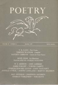 POETRY - Vol. 89 No. 6 - March 1957