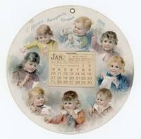 1892 Hood's Sarsaparilla Calendar.