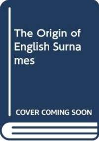 image of Origin of English Surnames
