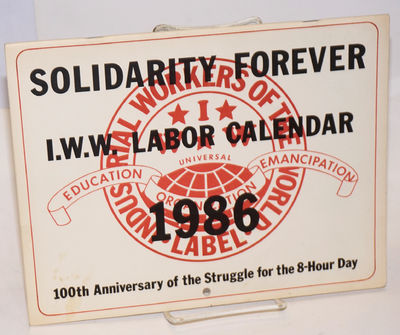 Chicago: Industrial Workers of the World, 1985. 26p., wraps, 8.5x11; illustrated with black and whit...