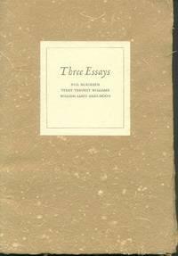 image of Three Essays