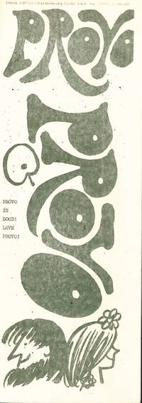 Provo, no. 1 (all published). Parallel edition