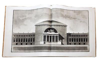 1814. ANTOLINI, Giovanni Antonio. Projetto sul Foro Bonaparte che doveva Eseguirsi in Milano in 24 G...