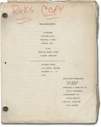 image of Wolfman Jack's Disco Party [The Disco Party], Riviera Hotel, Las Vegas, Nevada October 11-17, 1975 (Original script for the 1975 live show)