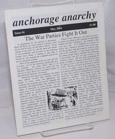 Anchorage, AK: Bad Press, 2004. 12p., staplebound zine format, vertically creased.