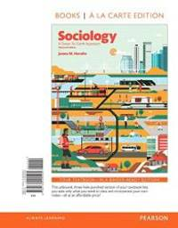 Sociology: A Down to Earth Approach, Books a la Carte Edition (13th Edition) by James M. Henslin - 2016-06-09 - from Books Express and Biblio.co.uk