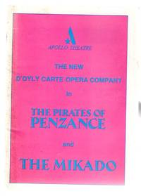 The Pirates of Penzance and the Mikado  : Theatre Programme