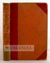 London: Pickering & Chatto, 1920. three-quarter leather, cloth, all edges gilt. Pickering & Chatto. ...