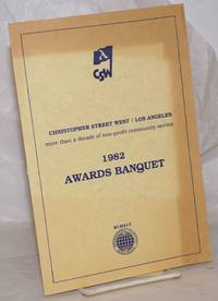 image of Christopher Street West/Los Angeles 1982 Awards Banquet [program]