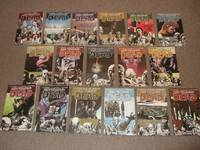 17 Volumes: Walking Dead 1 2 3 4 5 6 7 8 9 10 11 12 13 14 15 16 17 (Days Gone Bye; Miles Behind Us; Safety Behind Bars; Heart's Desire; Best Defense; This Sorrowful Life; Calm Before; Made Suffer; Here We Remain; What We Become; Fear Hunters;  etc)