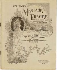 COL. SINN'S MONTAUK THEATRE: FOURTH SEASON 1898-1899 The Elite Theatre of  Brooklyn.