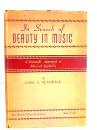 In Search Of Beauty In Music: A Scientific Approach To Musical Esthetics
