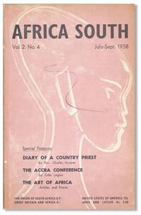 Africa South; Vol. 2, no. 4, July-September, 1958
