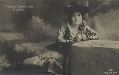 Postmarked December 11, 1913. Studio of Hermann Leiser in Berlin. From the collection of the disting...