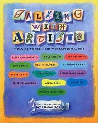 TALKING WITH ARTISTS (Volume Three)