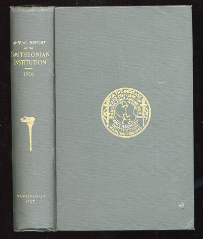 Washington: United States Government Printing Office, 1927. Hardcover. First edition. Large bookplat...