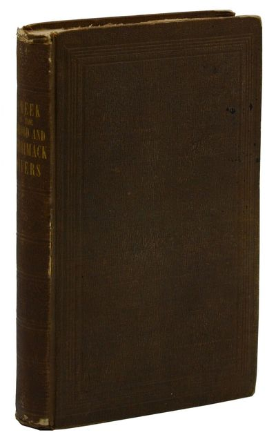 Boston and Cambridge: James Munroe and Company, 1849. First Edition. Very Good. First edition. (Thre...