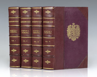 London: George G. Harrap & Company, 1933-38. First editions of each volume of this important biograp...