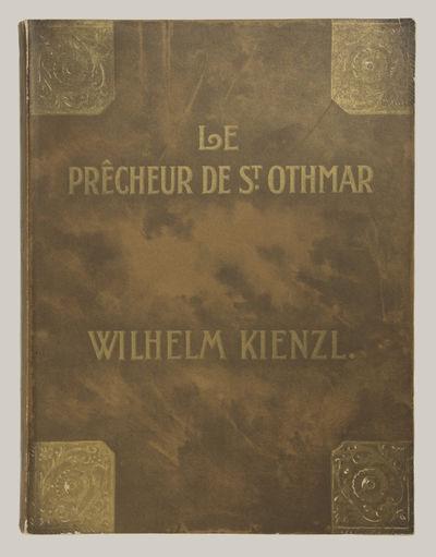 Berlin: Ed. Bote & G. Bock , 1908. Quarto. Original publisher's decorative wrappers. 1f. (recto titl...