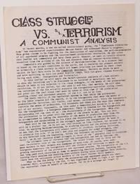 image of Class Struggle vs. SLA terrorism [handbill]