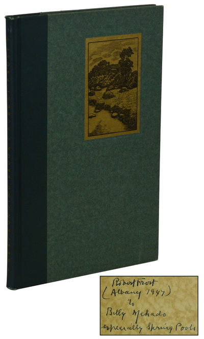 New York: Henry Holt and Company, 1935. Reprint. Hardcover. Very Good. Later printing. Signed by Rob...