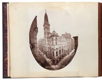 [Album containing 154 albumen photographs of Chicago by a noted photographer, including important architectural images, as well as images relating to the preparations for the 1893 World's fair, the stockyards as described by Upton Sinclair, and more]