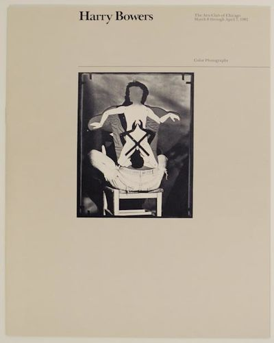 Chicago, IL: The Arts Club of Chicago, 1982. First edition. Softcover. 4 pages. Exhibition catalog f...