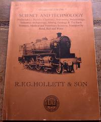 R F G HOLLETT & SON Occasional List 106 Science And Technology