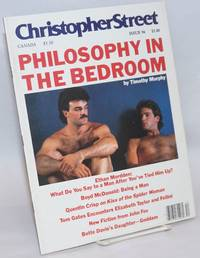 Christopher Street: vol. 8, #12, whole issue #96, January 1985; Philosophy in the Bedroom