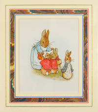 Original color plate from an early edition of Peter Rabbit.